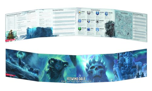 Icewind Dale: Rime of the Frostmaiden DM Screen