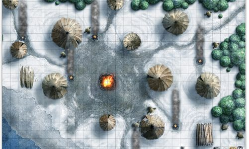 Icewind Dale: Rime of the Frostmaiden Encounter Maps