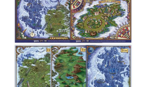 The Wild Beyond the Witchlight Encounter Maps
