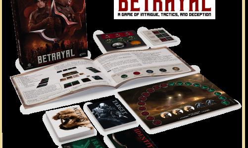 Dune: Betrayal Rule Book