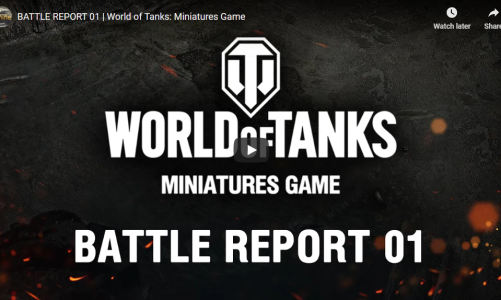 Battle Report | World of Tanks: Miniatures Game