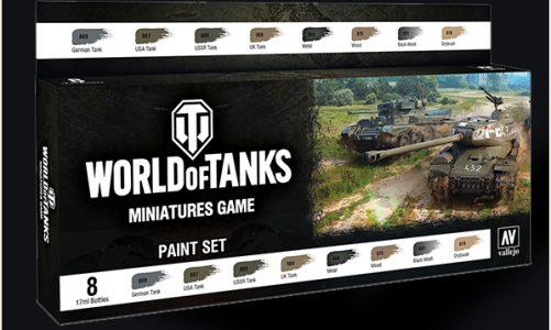 World of Tanks: Miniatures Game Paint Set