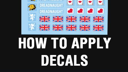 Apply decals